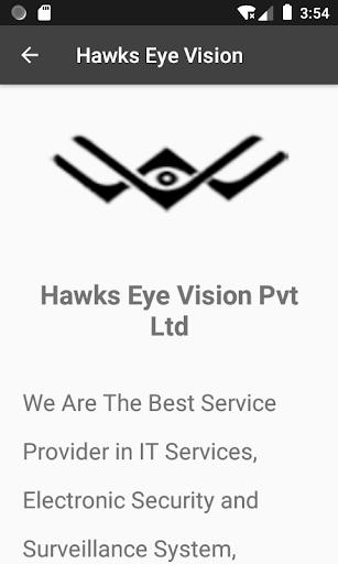 Hawks Eye Vision Pvt Ltd  screenshots 2