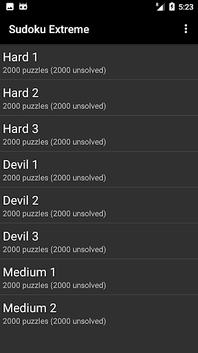 Sudoku free App Extreme apklade screenshots 2