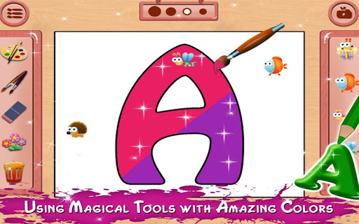 Coloring Book - Drawing Pages for Kids apkpoly screenshots 3