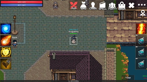 Arcadia MMORPG online 2D like Tibia  screenshots 6