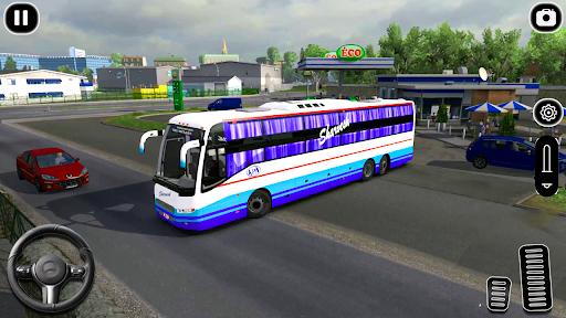 Modern Coach Tourist Bus: City Driving Games Free 1.0 screenshots 8