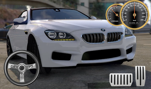 Drive BMW M6 Coupe - City & Parking apkpoly screenshots 3