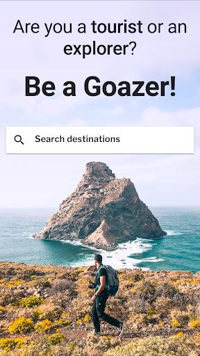 GOAZ: Travel Stories, Trips & Tips. Be an Explorer 6.27.0 Screenshots 1