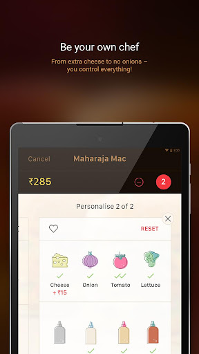 McDelivery- McDonaldu2019s India: Food Delivery App 10.51 Screenshots 9