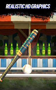 Knockdown Bottles Smash:Baseball hit & knock out 3 1.0 APK + Mod (Free purchase) for Android