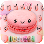 Colorful Sugar Macaroons Keyboard Theme