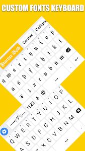 Fonts Keyboard - Text Fonts & Emoji 2.0.6