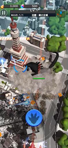 GODZILLA DESTRUCTION apktreat screenshots 2