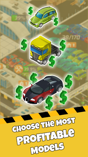 Idle Car Factory: Car Builder, Tycoon Games 2021 APK MOD – Pièces de Monnaie Illimitées (Astuce) screenshots hack proof 2