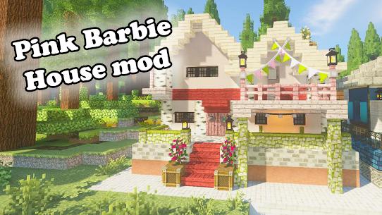 Mod Barbie Pink House for MCPE Apk 2021 2