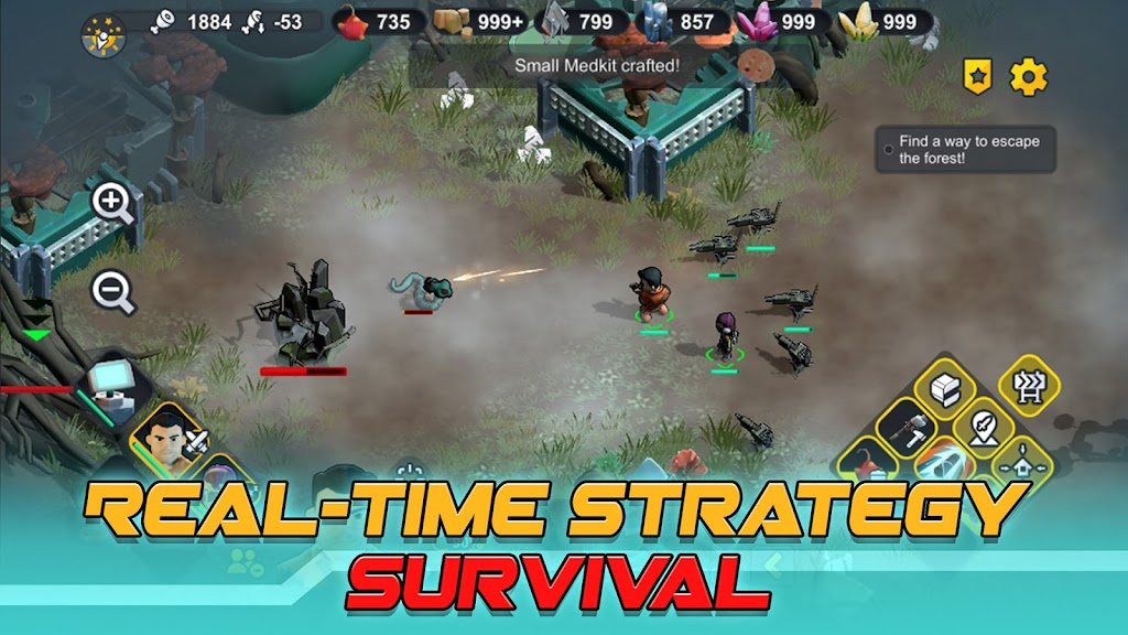 Strange World - RTS Survival poster 18