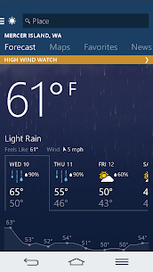 MSN Weather – Forecast & Maps 1