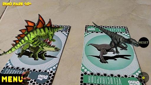 Dino Park 4D+ APK MOD – Pièces Illimitées (Astuce) screenshots hack proof 2