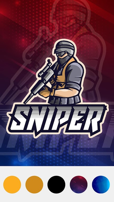 Esport Logo Maker - Create Free Gaming Logo Mascot  poster 1