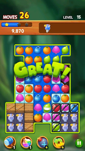 Fruit Magic Master: Match 3 Puzzle 1.0.6 screenshots 23