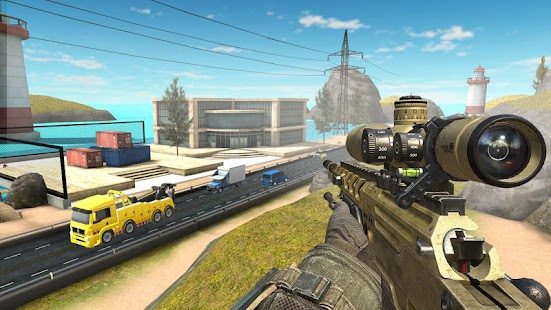 Counter Sniper Shooting; Offline-Schießspiel Screenshot