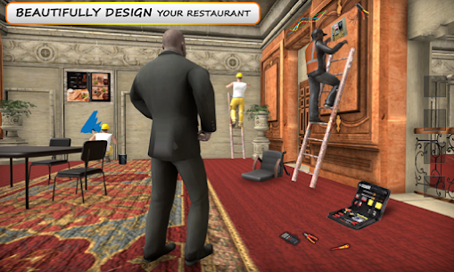 MY restaurant Manager: Virtual manager games 3D 1