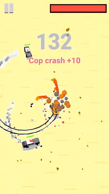 Police Drift Racing Android App Screenshot