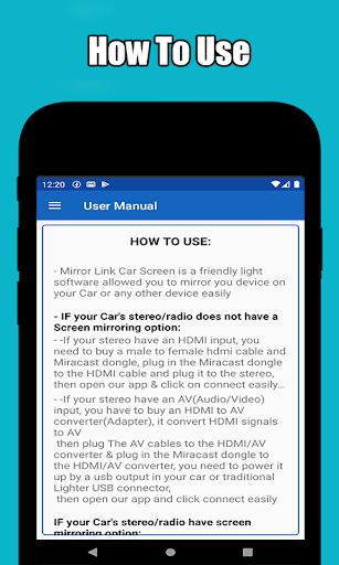 Mirror link car connector 2.0 Screenshots 3