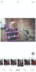 Auto Blur Background Photo Editor Glitch BG Neon Apk app for Android 5
