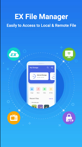 EZ File Explorer - File Manager Android 2020 screen 0