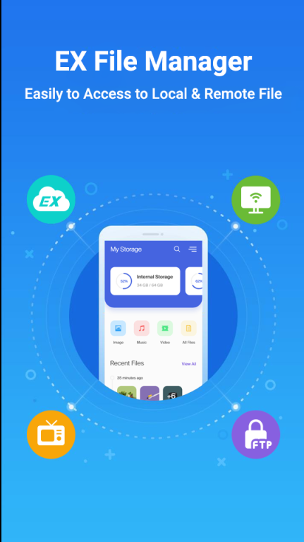 EZ File Explorer - File Manager Android 2020 poster 0