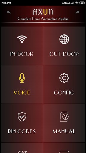 AXUN - Home Automation  screenshots 1