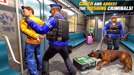 US Police Dog Subway Simulator Gamesu2013Crime Chase 1.0.14 screenshots 3