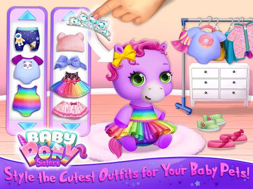 Baby Pony Sisters - Virtual Pet Care & Horse Nanny 5.0.14007 screenshots 17
