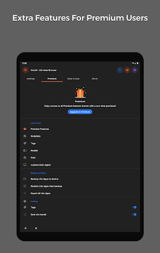 Hermit u2022 Lite Apps Browser 16.5.1 Screenshots 11