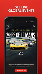 MotorTrend  Stream Roadkill, Top Gear, and more! Apk Download 4