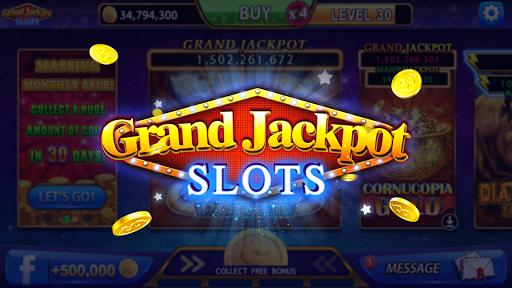 Grand Jackpot Slots - Free Casino Machine Games Apkfinish screenshots 17