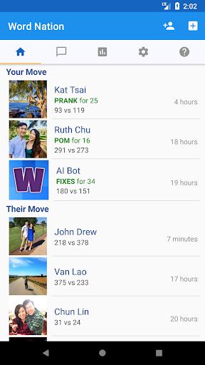 Word Nation - Multi-player Crosswords Friends Game screenshots 3