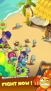 Zombie Defense – Plants War – Merge idle games Mod Apk (Unlimited Diamonds) 4