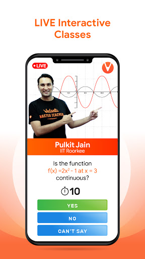 Vedantu: LIVE Learning App   Class 1-12, JEE, NEET 1.6.9 screenshots 1