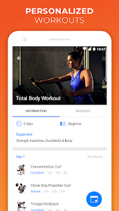 Virtuagym Fitness Tracker Home Gym v9.3.2 PRO APK 4
