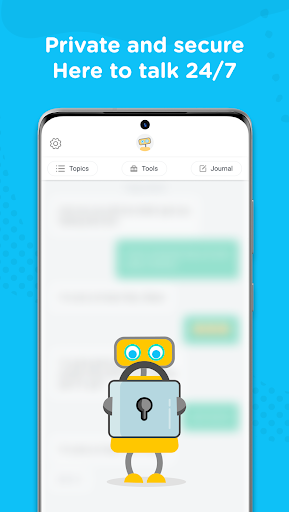 Woebot: Your Self-Care Expert android2mod screenshots 5