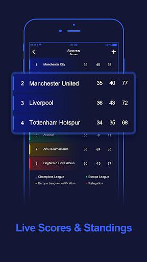 WinScore - free football live score.  screenshots 1