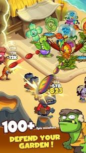 Zombie Defense – Plants War – Merge idle games Mod Apk (Unlimited Diamonds) 8