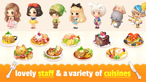 My Secret Bistro - Play cooking game with friends 1.8.6 screenshots 17