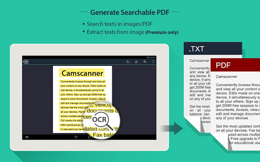 CamScanner HD - Scanner, Fax 3.2.0.20140327 Screenshots 9