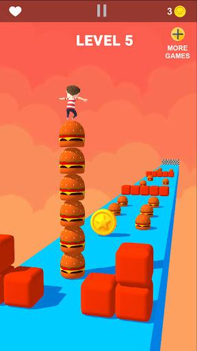 Cube Stacker Surfer 3D - Run Free Cube Jumper Game  screenshots 11