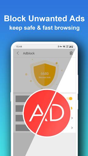 Pure Web Browser-Ad Blocker,Video Download,Private 1.8.9 Screenshots 3