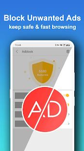 Pure Web Browser-Ad Blocker,Video Download,Private 2.0.9 Screenshots 3