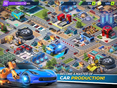 Overdrive City:Car Tycoon Game 7