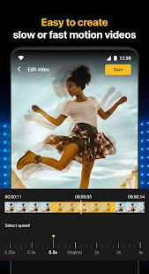 Slow motion - Speed up video - Speed motion 1.0.64 Screenshots 4
