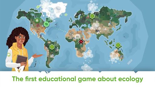 Save Earth.Offline ecology strategy learning game modiapk screenshots 1