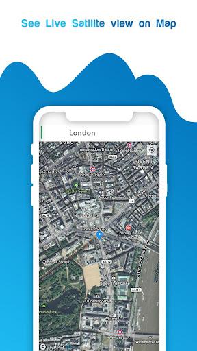 live gps satellite view maps & voice navigation screenshot 3