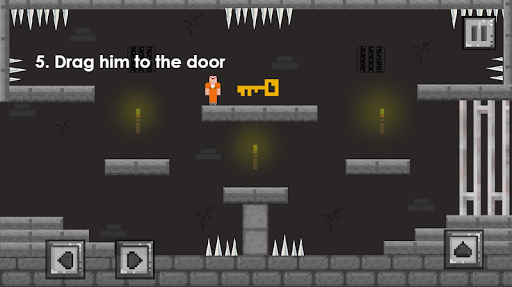 Escaping Noob vs Hacker: one level of Jailbreak apkpoly screenshots 13