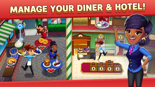 Free Diner DASH Adventures – Cook Fast  Beat the Clock Apk Download 2021 4